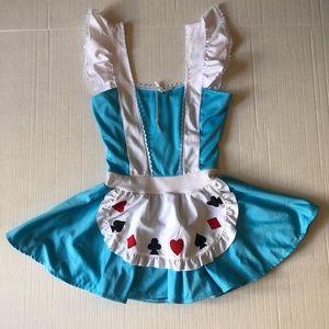 Alice in Wonderland Halloween Costume 🎃